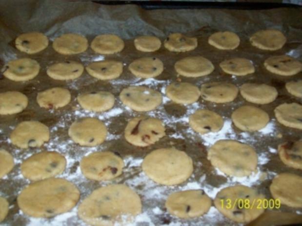 Schoko Mandel cookies - Rezept - Bild Nr. 3