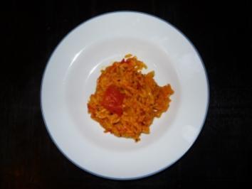 Indischer Tomaten-Reis - Rezept