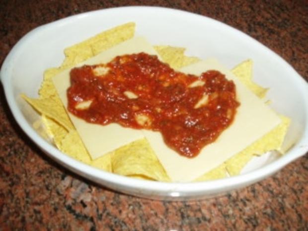 Tortilla-Cheddar-Snack - Rezept