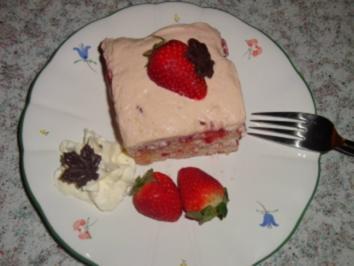Erdbeeren - Tiramisu - Rezept