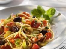 Spagetti mit Scampi - Rezept