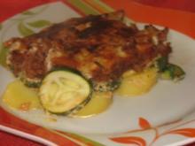 türkische moussaka mit zucchini - Rezept
