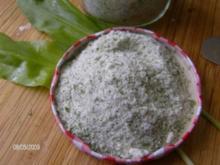 Bärlauch - Salz - Rezept
