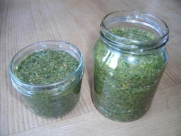 Würzpaste aus Gemüse und Kräutern - Rezept