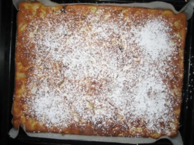 Apfelkuchen mit Schmand vom Blech - Rezept - Bild Nr. 5