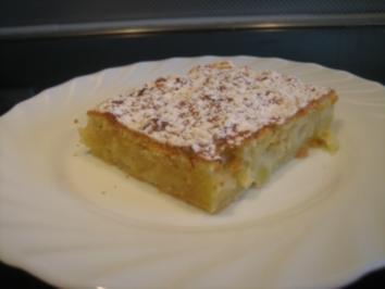Rezept: Apfelkuchen mit Schmand vom Blech