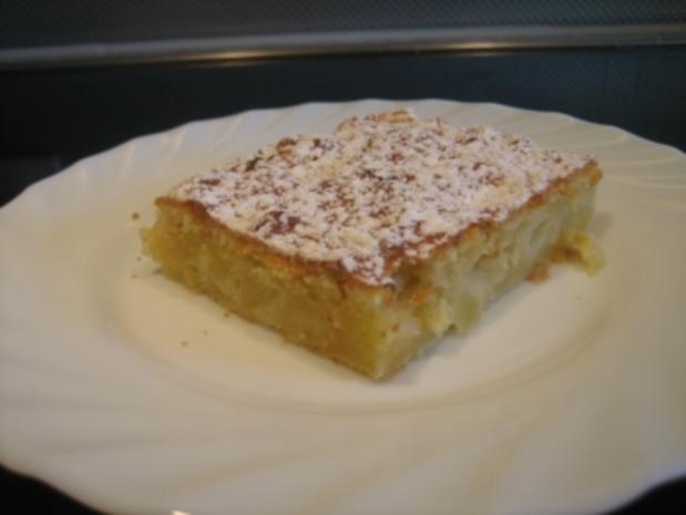 Apfelkuchen mit Schmand vom Blech - Rezept