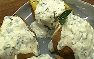 Ofenkartoffel mit Wasabi-Sour-Cream - Rezept - Bild Nr. 9