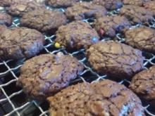 Kekse / Plätzchen - Schoko-Cookies - Rezept