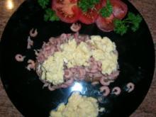 Büsumer Krabbenbrot (leckeres kleines Abendgericht) - Rezept