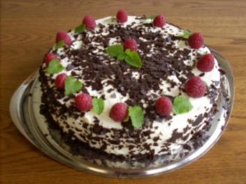 Beeren-Sahne-Torte - Rezept
