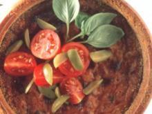 antipasti flan mit tomaten - Rezept