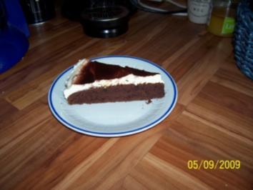 Kuchen - Schokokuchen mit Kokos - Rezept