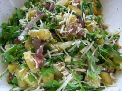 Kartoffelsalat mit Rucola &  Chorizo - Rezept