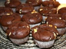 Schoko - Jumbo - Muffins - Rezept