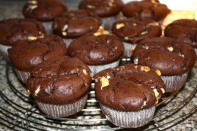 Rezept: Schoko - Jumbo - Muffins
