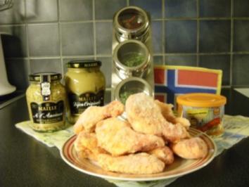 Huehnerbeinchen mit Senf und Honig - Rezept