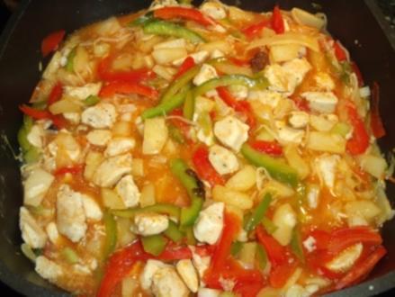 Fleisch süßsauer (flexibles Rezept) - Rezept