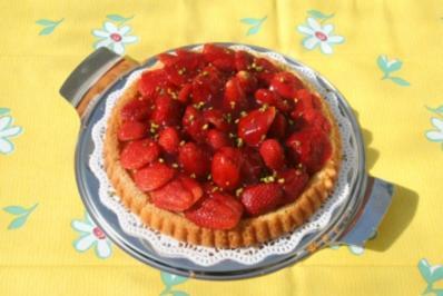 Erdbeer Torten Boden - Rezept