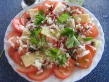 Tomaten-Carpaccio mit Kapern - Rezept