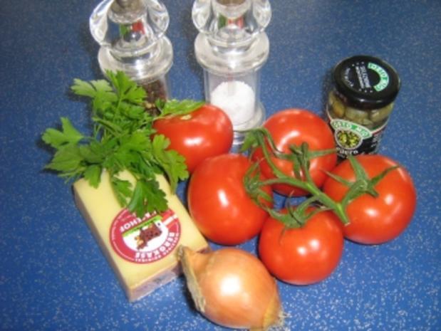 Tomaten-Carpaccio mit Kapern - Rezept - Bild Nr. 2
