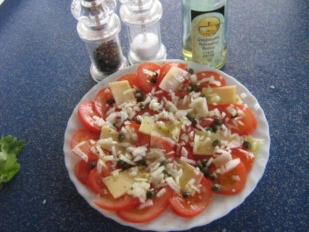 Tomaten-Carpaccio mit Kapern - Rezept - Bild Nr. 4