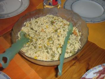 Nudelsalat vegetarisch - Rezept