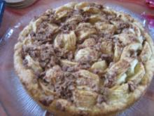 Omas Apfelkuchen mit Streußel - Rezept