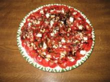 Tomatensalat mit Schafskäse - Rezept