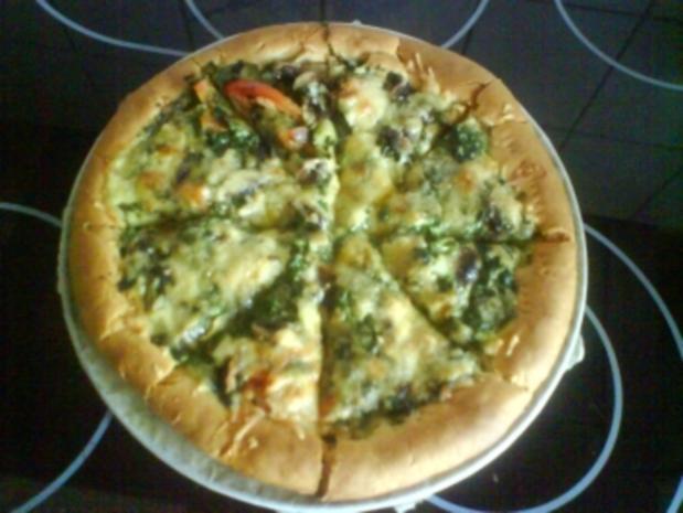 Arabische Pizza-vegetaria - Rezept