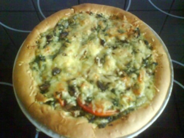 Arabische Pizza-vegetaria - Rezept - Bild Nr. 2