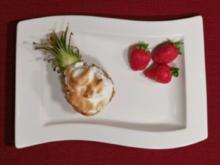 Südseegrilleis mit Zuckererdbeeren (Michael Wendler) - Rezept
