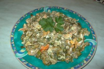 Grüner Spargel mit Ei - Rezept