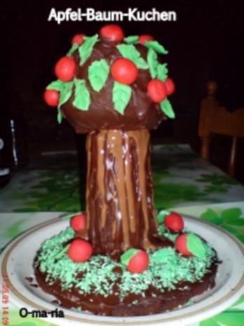 """Kuchen  """"Apfel-Baum-Kuchen"""" - Rezept"""