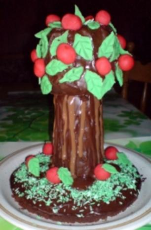 """Kuchen  """"Apfel-Baum-Kuchen"""" - Rezept - Bild Nr. 3"""