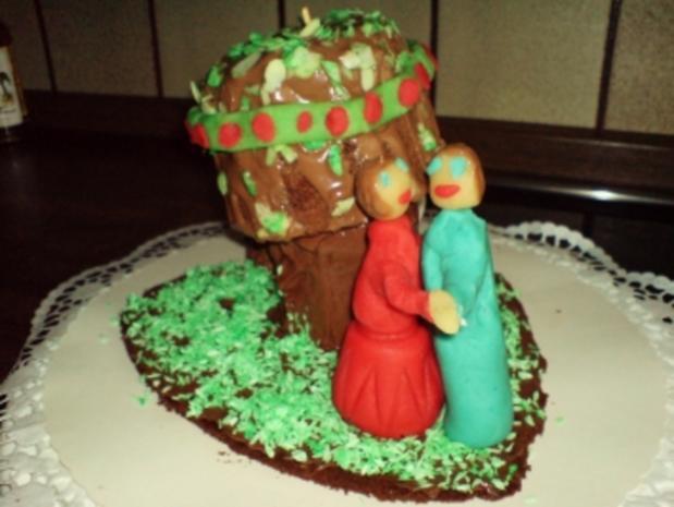 """Kuchen  """"Apfel-Baum-Kuchen"""" - Rezept - Bild Nr. 4"""