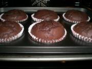 schokoladige Schokoladen-Muffins - Rezept