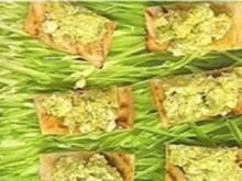 Gegrillte Avocado-Fetakäse-Crossies - Rezept