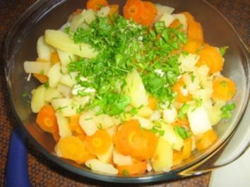 Kartoffel-Karottengemüse - Rezept
