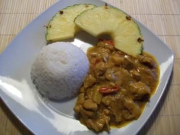 JAVA-COCONUT-CURRY - Rezept