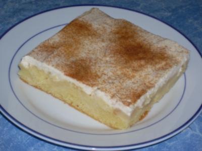 Apfel - Schmand - Kuchen - Blech - Rezept