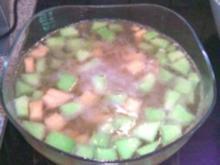 Melonen-Bowle mit Ingwer - Rezept