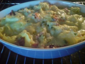 Rezept: Tortellini-Gemüse-Auflauf