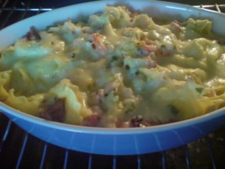 Tortellini-Gemüse-Auflauf - Rezept