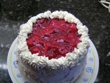 Mini-Erdbeer-Torte - Rezept