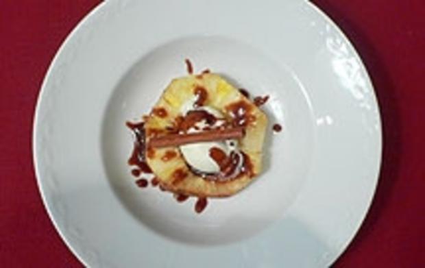 Gebackene Rosmarin-Ananas - Rezept
