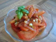 *Salate - Tomaten-Frühlingszwiebel-Salat - Rezept
