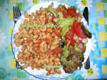 Hauptspeise für Singel: Nutoma mit Käse - Rezept