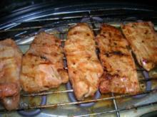 Filets mit Chili-Ketchup - Rezept