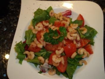Shrimps-Salat - Rezept